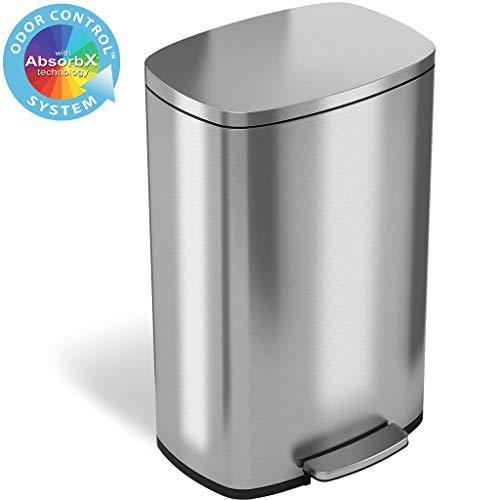 41WI8uBRK4L - Best Slim Trash Can Reviews 2020