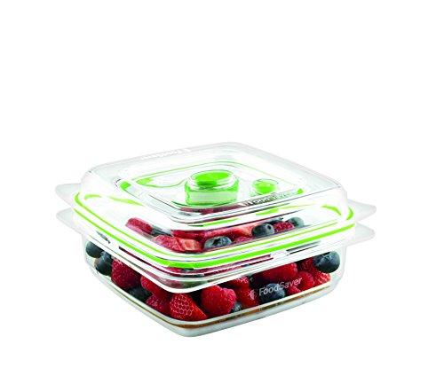 FoodSaver Contenitore Salva Freschezza per Sottovuoto da 700 ml, BPA Free, Indicatore del Vuoto, Trasparente