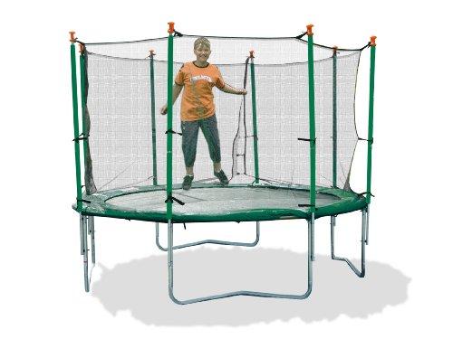 New Plast 41524 - Tappeto Elastico con Rete Protettiva, diametro 244 cm
