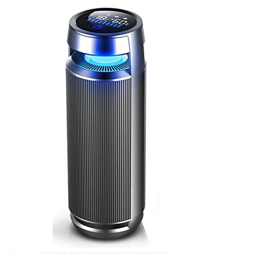 Vantro Smart Car Air Purifier with HEPA & Ionizer with Digital Touch Display with 1 Year warranty