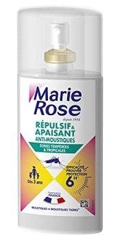 MARIE ROSE Spray Repulsif/Apaisant Anti-Moustiques 6H - Pack de 10