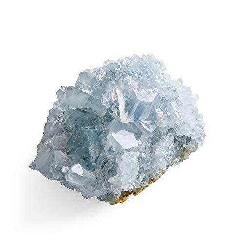 CXD-GEM A-Grade Celestite Natural Blue Celestite Cluster...