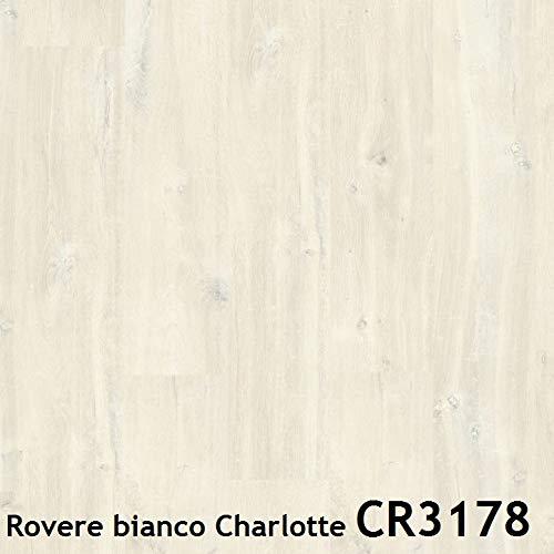 Pavimento in laminato Quick-Step | CREO (Rovere bianco Charlotte CR3178)