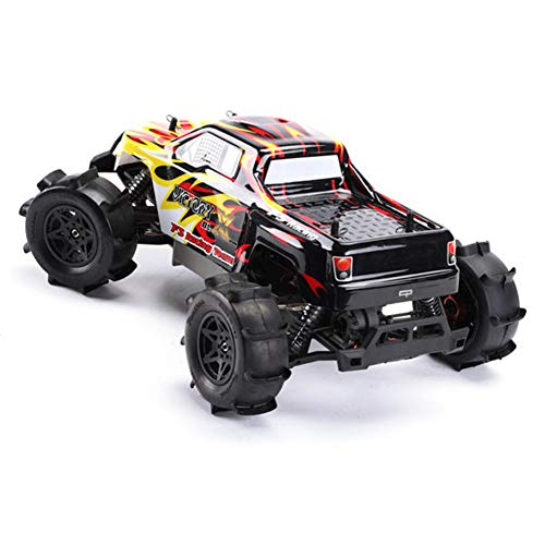 Alician FS Racing RC Car FS-53692 1:10 2.4G 4WD Brushless Water Truck Remote Control Kid Toy red