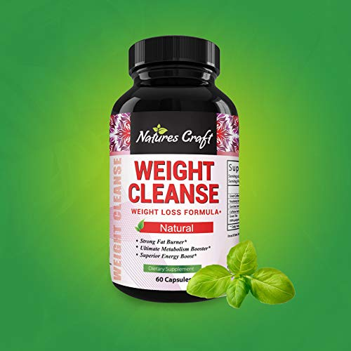 Immune Support Garcinia Cambogia Weight Loss HCA - Pure Green Coffee Bean Appetite suppressant Control Supplements Green Tea EGCG Energy Workout Boost - Detox Cleanse Supplement Natures Craft 8