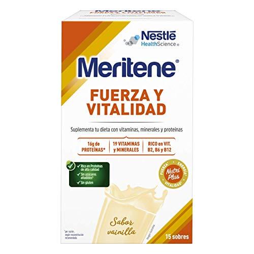 Meritene® FUERZA Y VITALIDAD - Suplementa tu nutrición y m