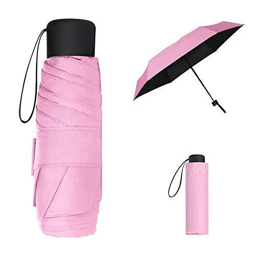 Vicloon Parapluie Pliant,Parapluie de Soleil,Mini Parapluie de Poche,...