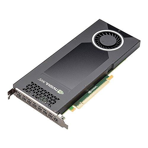 PNY NVIDIA NVS 810 Scheda Grafica Professionale 4 GB DDR5 PCI-Express Low Profile 8XDP (VCNVS810DP-PB)
