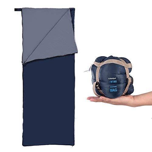 Lixada Saco de Dormir Ultraligero Compresible Multifuncional Saco de...