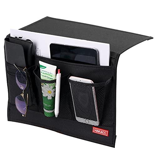 HAKACC Bedside Caddy/Bedside Storage Organizer,Remote Control...