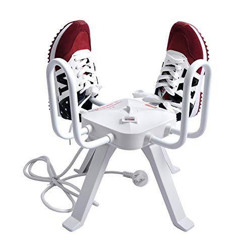 SSZZ Séchoirs À Chaussures Électriques Thermostat Intelligent Chaussure De Séchage Chauffée Chauffe-Chaussures Stérilisation Déshumidificateur Silencieux À Économie D'énergie (4 Chaussures)