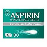 Aspirin 500mg 80 stk