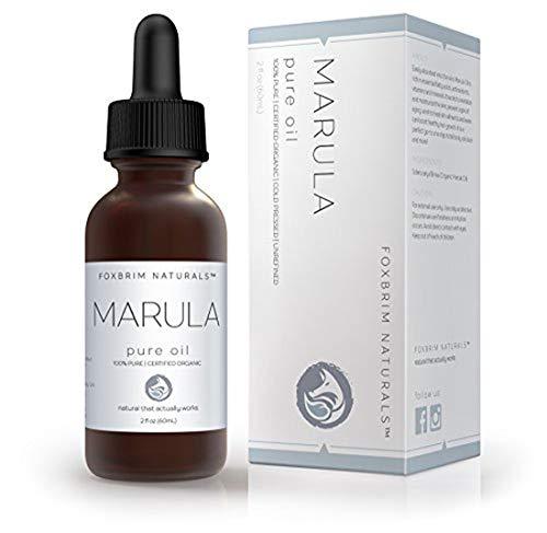 Organic Virgin Marula Oil for Face, Hair & Nails -...