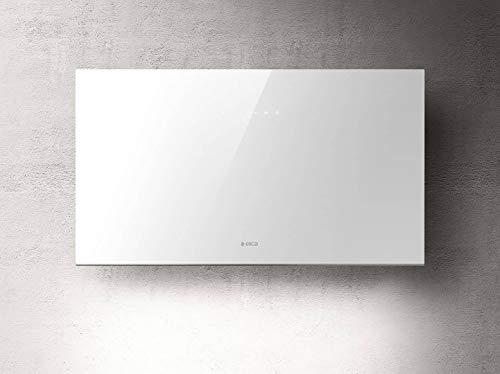 Cappa da cucina Cucina da 55 cm, Filtrante, Installazione Parete, Bianco - Elica PLAT WH/F/55
