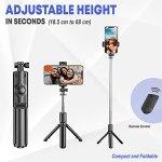 Tygot Bluetooth Extendable Selfie Sticks...