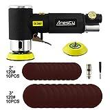 Mini Ponceuse excentrique à air comprimé 50 mm / 75mm ;Anesty Ponceuse...