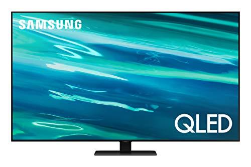 SAMSUNG 75-Inch Class QLED Q80A Series - 4K UHD Direct Full Array Quantum HDR 12x Smart TV with Alexa Built-in (QN75Q80AAFXZA, 2021 Model)