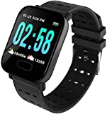 Frittle TR07 116 Smart Fitness Band with Blood Pressure Monitoring | Heart Beat Counter | Step Counter & Many Other Mobile Activity Compatible with All Devices