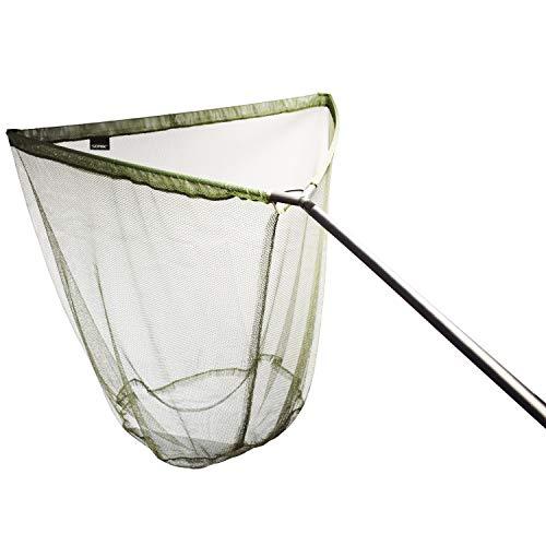 Sonik - Retino da pesca alla carpa con asta VADERX 42'  Guadino per la pesca alla carpa grande con asta in carbonio in due pezzi, oliva, Einteilig