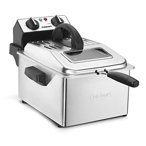 Cuisinart CDF-200P1 Deep Fryer, 4 Quart, Stainless Steel