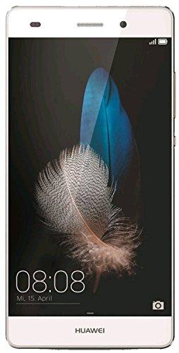 Huawei P8 lite Smartphone, Display 5.0' IPS, Dual Sim, Processore Octa-Core, Memoria 16 GB, Fotocamera 13 MP, Android 5.0, Bianco