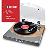 ION Audio Premier LP – Platine vinyle Bluetooth, avec 3 vitesses et...