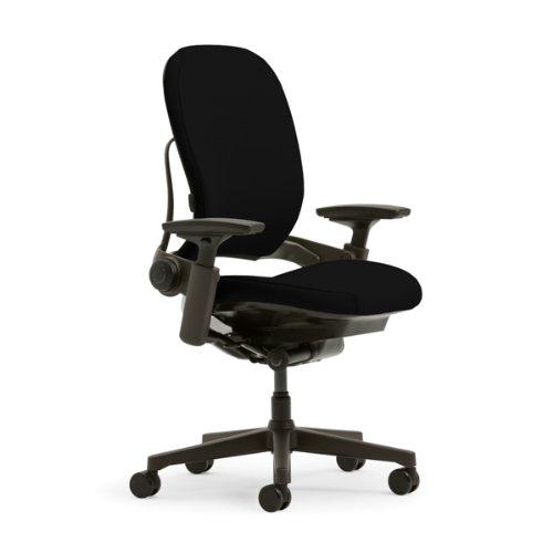Steelcase Leap Plus Fabric Chair, Black