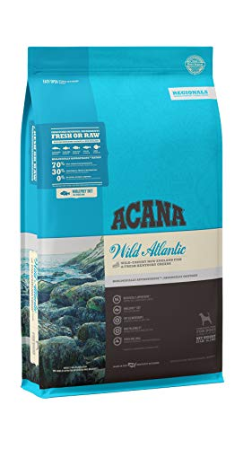 Acana Grain Free Dry Dog Food, High Protein, Freeze-Dried Coated, Whole Fish, 25lb