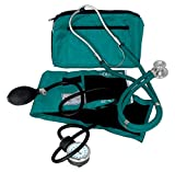 Dixie EMS Blood Pressure and Sprague Stethoscope Kit - Teal
