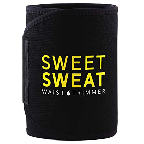 Sports Research Sweet Sweat Premium Waist Trimmer (Yellow...