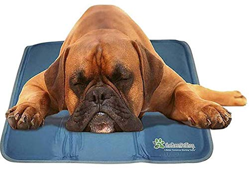 TheGreenPetShop Dog Cooling Mat – Gel Self...
