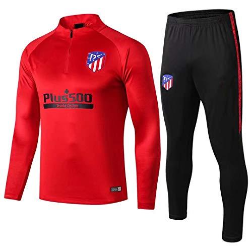 18-19 Atlético de Madrid Manga Larga, Traje de Entrenamient