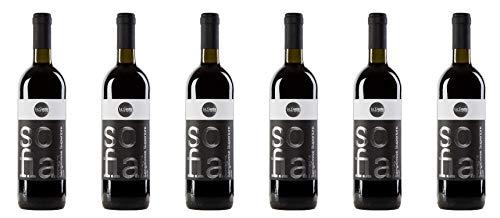 6 Bottiglie di SOFIA Romagna Sangiovese Superiore DOP affinato in botti grandi di rovere