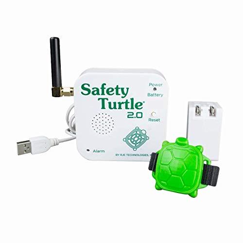 Alarme de Piscine Enfant - Kit Bracelet + Base réceptrice - Safety Turtle...