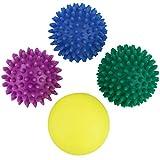 BB Sport balles de Massage avec différentes duretés Set de 4 Boules de Massage à Picots