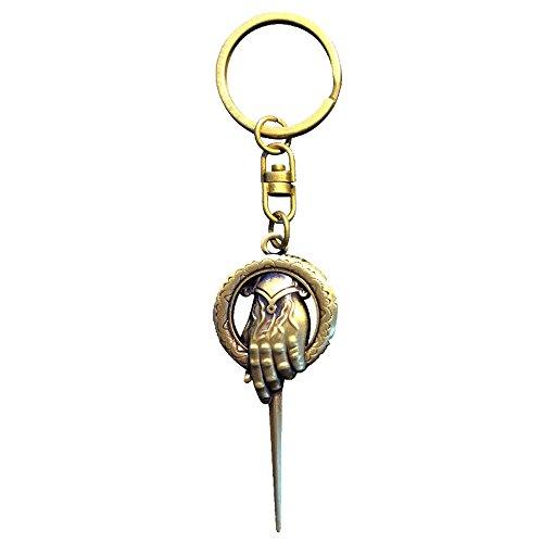 Game Of Thrones Juego de Tronos key103Mano del Rey 3D Efecto Llavero