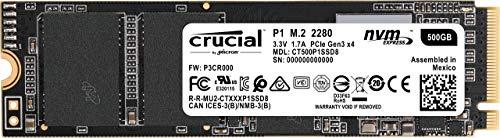 Crucial CT500P1SSD8 - Unidad interna de estado sólido-hasta 1900...