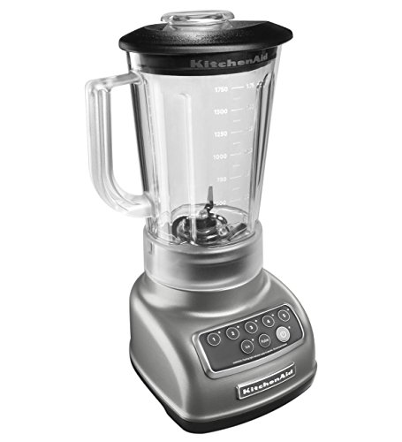 KitchenAid KSB1570SL 5-Speed Blender with 56-Ounce BPA-Free...