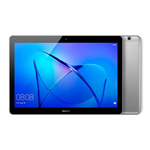 Huawei Mediapad T3 10 WiFi-Tablet, Quad-Core-A53-CPU, 2 GB RAM, 16 GB, 10-Zoll-Display, Grau (Space Grey)