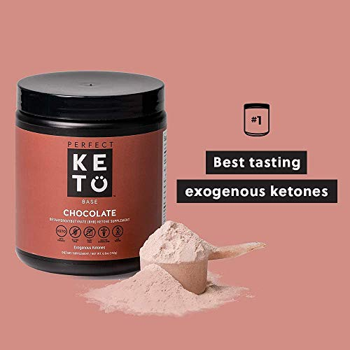 Exogenous Ketones Powder, BHB Beta-Hydroxybutyrate Salts Supplement, Best Fuel for Energy Boost, Mental Performance, Mix in Shakes, Milk, Smoothie Drinks for Ketosis – New Chocolate, 9.0 oz (255 grs) 5