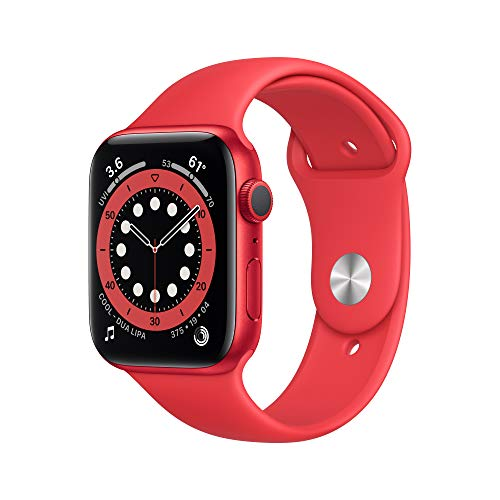 New AppleWatch Series 6 (GPS, 44mm) - (Product) RED - Aluminum Case with (Product) RED - S…
