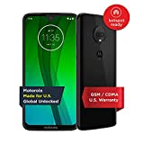 Moto G7 – Unlocked – 64 GB – Ceramic Black (US Warranty) - Verizon, AT&T, T-Mobile, Sprint, Boost, Cricket, & Metro