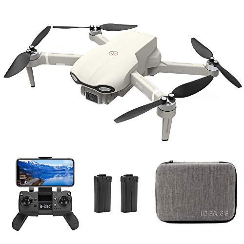 le-idea - IDEA39 Drone FPV Ultraleggero e Portatile con Telecamera 4K UHD, Motore brushless, Trasmissione WiFi 5GHz, Posizionamento del Flusso Ottico, Doppia batteria, Supporta solo il sistema Android