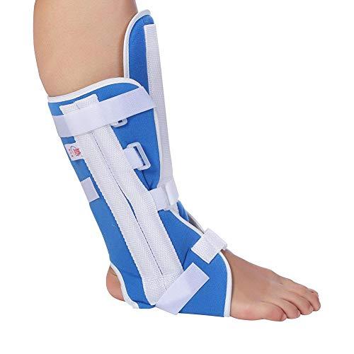 Sonew Fuß Tropfen Klammer Knöchel Unterstützung Knöchel Orthese Klammer justierbares Knie Gelenk Stützelastische Knöchel Verpackung(M)