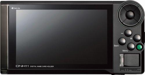 キングジム デジタル名刺ホルダー  ピットレック DNH11 ソリッドブラック