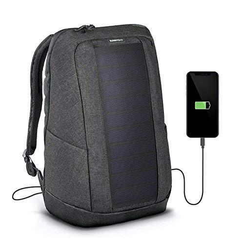 Sunnybag Iconic Sac à Dos Solaire avec Panneau Solaire intégré de 7 Watts | Port USB | Chargement...