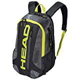 HEAD Racquetball & Pickleball Backpack - Racket Bag w/Multiple Compartments & Adjustable Shoulder Straps