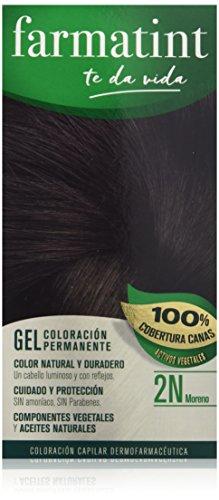 Farmatint 2N Moreno. Tinte permanente. Cabello natural y col