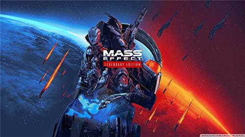 Mass Effect Legendary Edition Puzzle Kreatives 1000 Stück Puzzle Für Die Dekompression Der Erwachsenen Und Die Erziehung Von Kindern Oder Als Geschenk, 75 X 50Cm