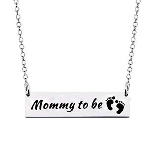 CHOORO Mommy to Be Bracelet Expectant Mother Bracelet New Mom Gift Pregnancy Announcement Gift for Mother-to-be
